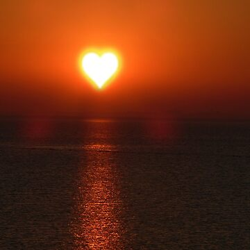 Sunset of heart by NaCl01