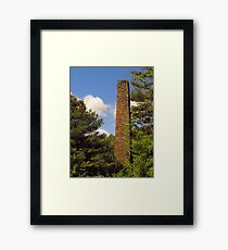 Claryville Tannery Remains Framed Print
