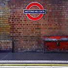 Notting Hill Gate ... London by Angelika  Vogel