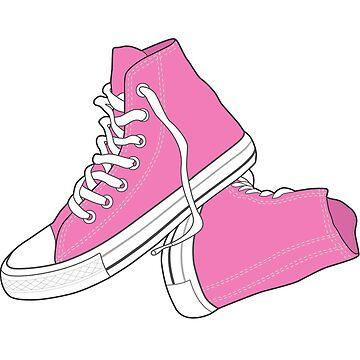 Zapato rosado popular del vintage retro de tlaprise