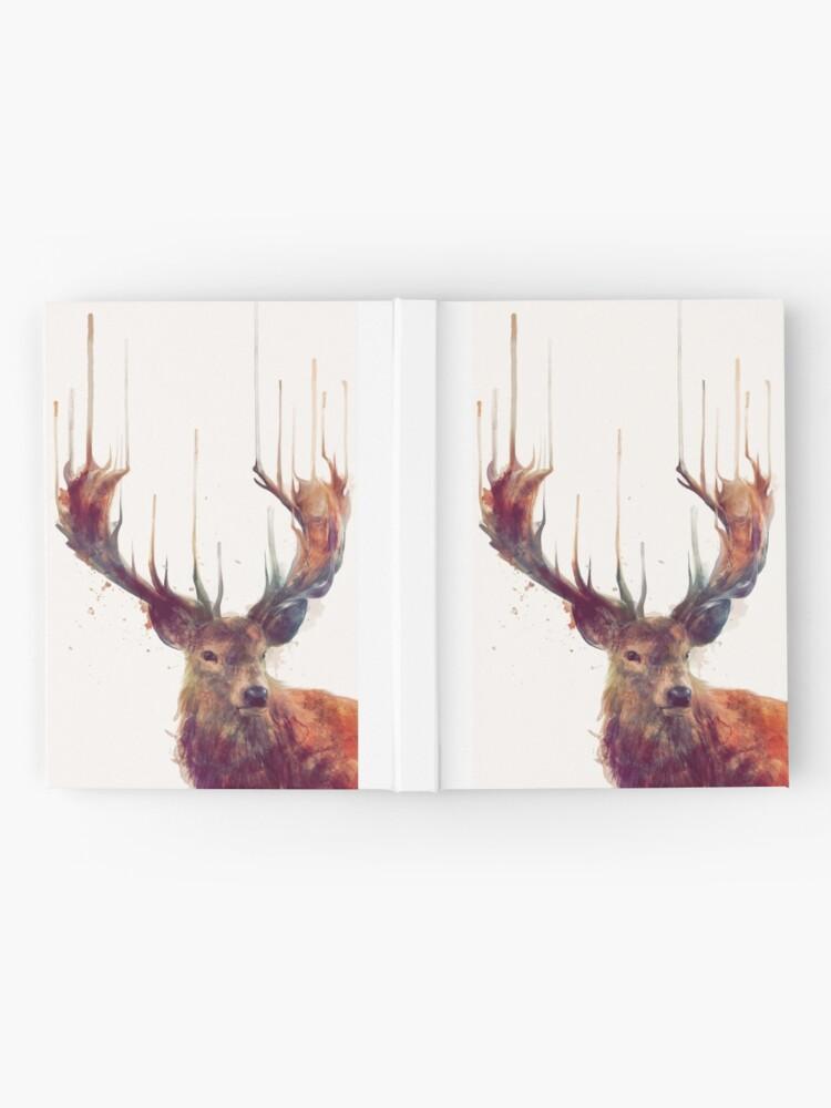 Alternate view of Red Deer Hardcover Journal