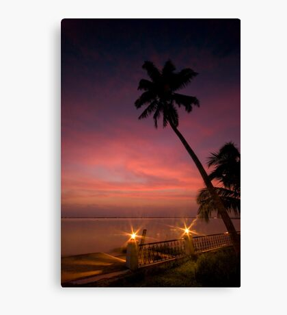 Vembanad Sunset Canvas Print