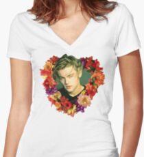Leo Women's Fitted V-Neck T-Shirt