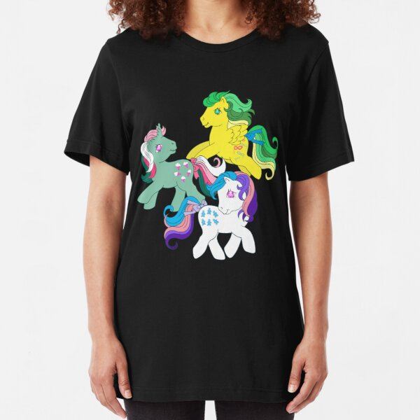 twinkle eye ponies Slim Fit T-Shirt