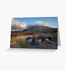 The Black Cullin Greeting Card