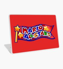 The Mario All Stars Laptop Skin