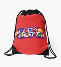The Mario All Stars Drawstring Bag
