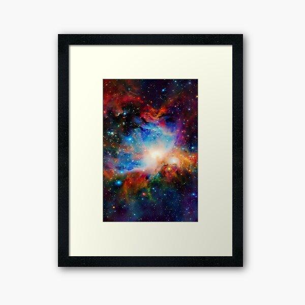 Hubble Telescope (Orion Nebula) Framed Art Print