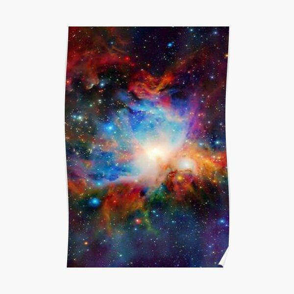 Hubble Telescope (Orion Nebula) Poster