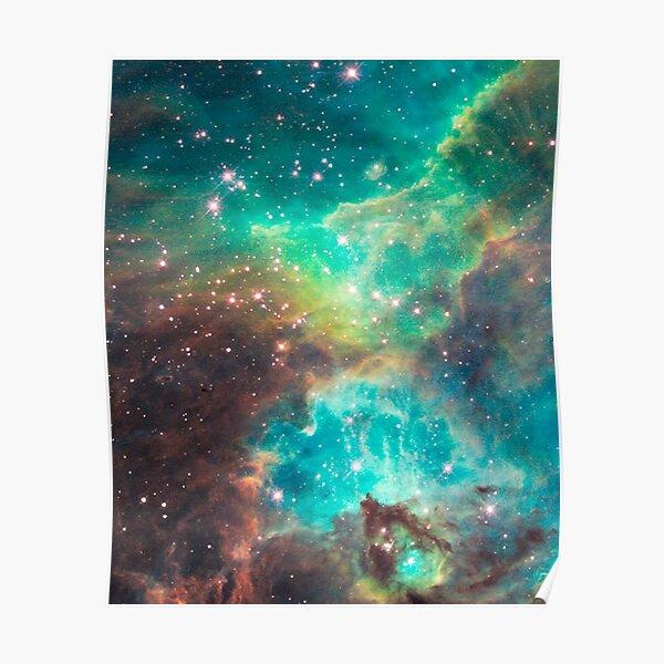 Hubble telescope (Tarantula Nebula) Poster