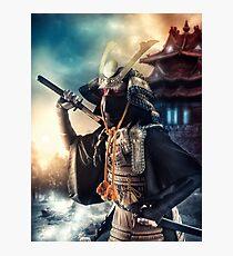 Samurai Lámina fotográfica