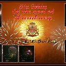 Birthday fireworks by Dirk Pagel