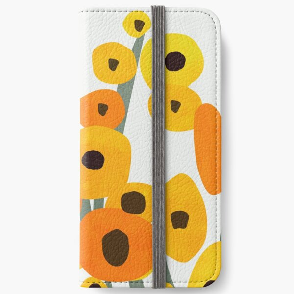 Sunflower Florals iPhone Wallet