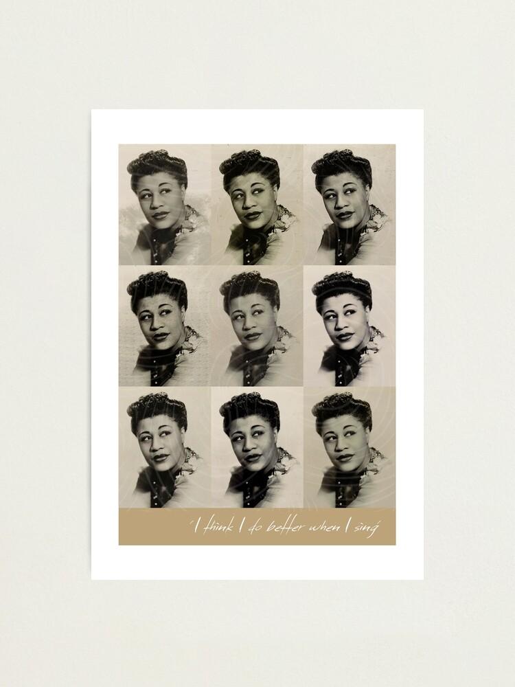 Alternate view of Jazz Heroes Series - Ella Fitzgerald Photographic Print