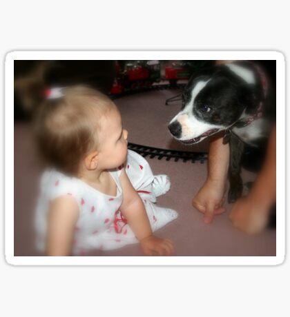Meeting  cousin Jessie Sticker