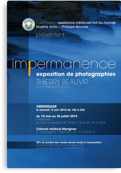 Expo / Impermanence by Thierry Beauvir
