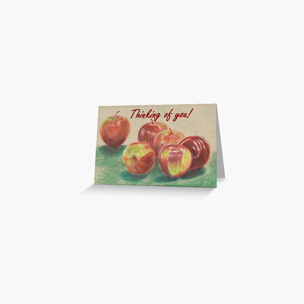 Apples - Thinking of You Greeting Card
