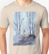 From silvery woods there comes a call Unisex T-Shirt