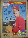 464 - Todd Worrell by Foob's Baseball Cards