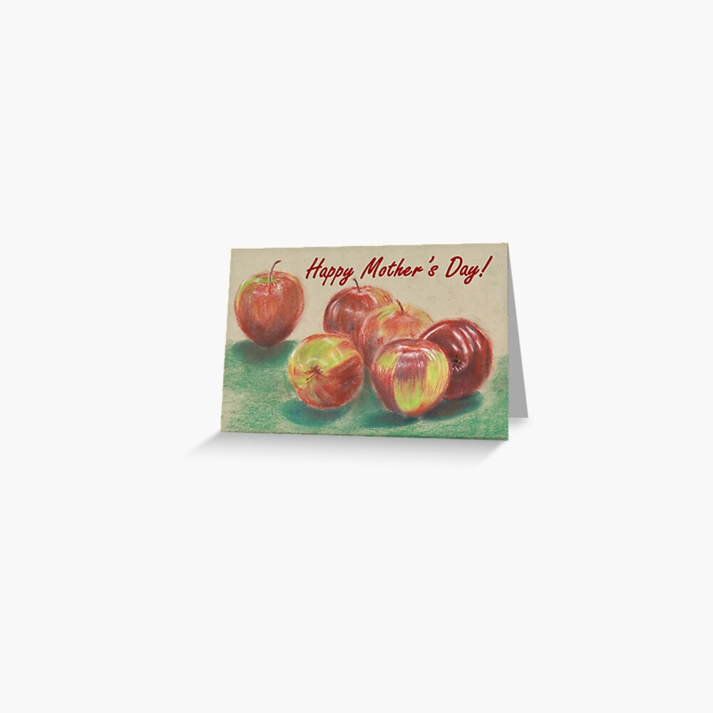 Mother's Day Card - Apples  Greeting Card