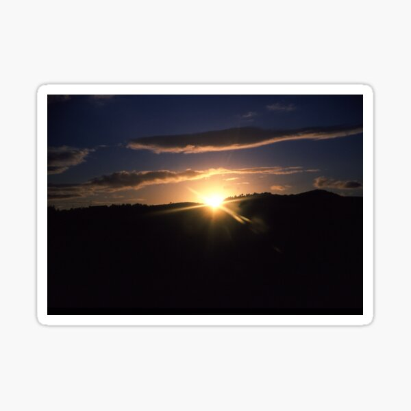 Galloway Sunset Sticker