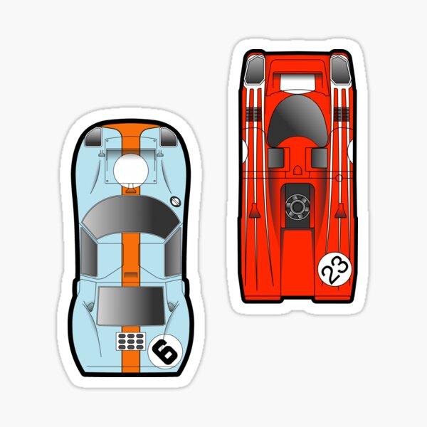 Slot Cars Sticker
