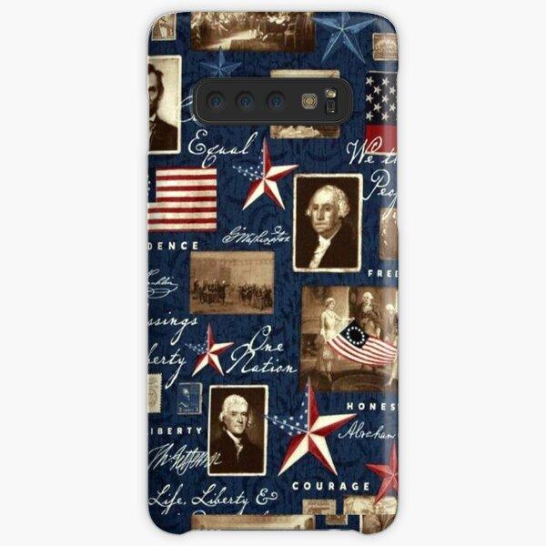 America Patriotic Symbolic Historical Collage Samsung Galaxy Snap Case