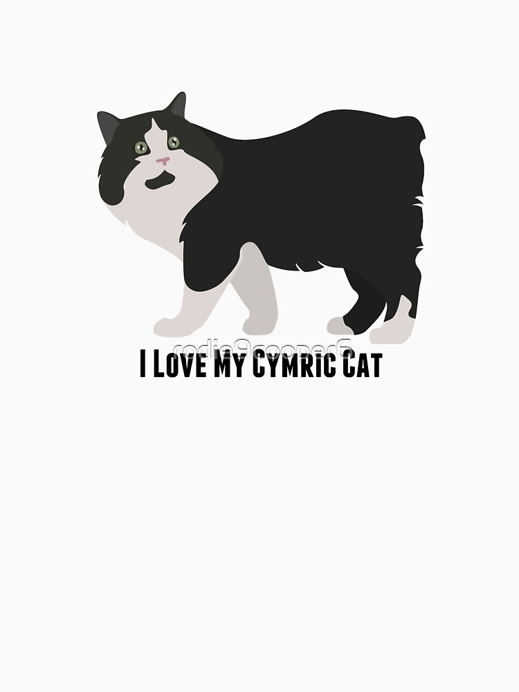 I Love My Cymric Cat by rodie9cooper6