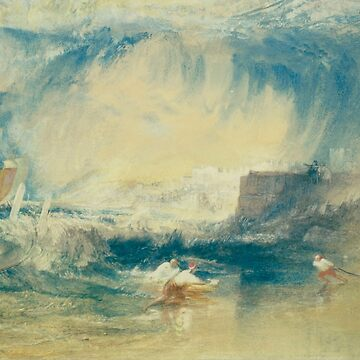 "Joseph Mallord William Turner ""Lyme Regis"" by ALD1"