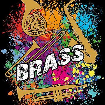 Trumpet, Saxophone, Trombone, Horn - BRASS by Vectorbrusher