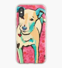 Zoe with Pink Pattern iPhone Case