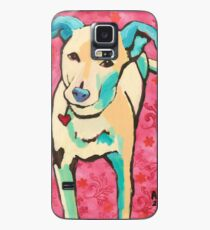 Zoe with Pink Pattern Case/Skin for Samsung Galaxy
