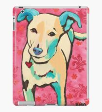 Zoe with Pink Pattern iPad Case/Skin