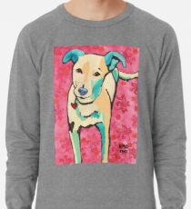 Zoe with Pink Pattern Lightweight Sweatshirt