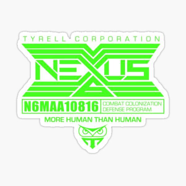 Nexus 6 Replicants Sticker