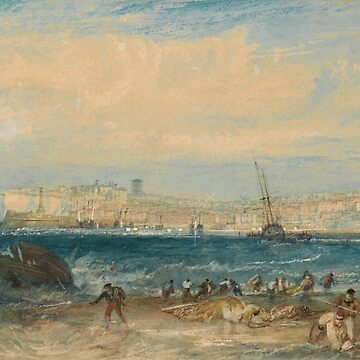 "Joseph Mallord William Turner ""Margate"" by ALD1"