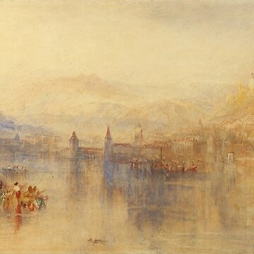 "Joseph Mallord William Turner ""Lucerne from the Lake"" by ALD1"