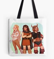 The Fellowship of 70s Fantasy Fashion Tote Bag
