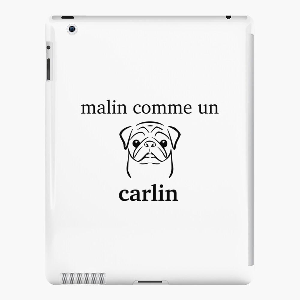 inteligente como Carlin Funda y vinilo para iPad