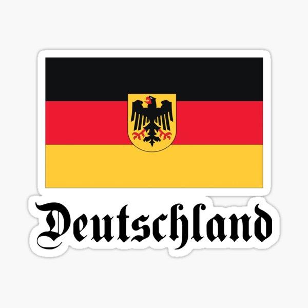 Deutschland - light tees Sticker