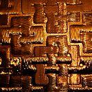 Golden Texture by Richard Pitman