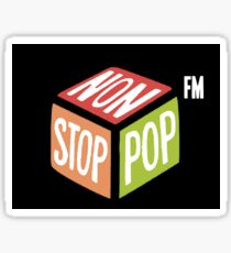 Non-Stop-Pop FM radio station Grand Theft Auto V gta online Sticker