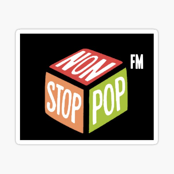 Station de radio FM non-stop-Pop Grand Theft Auto V gta en ligne Sticker