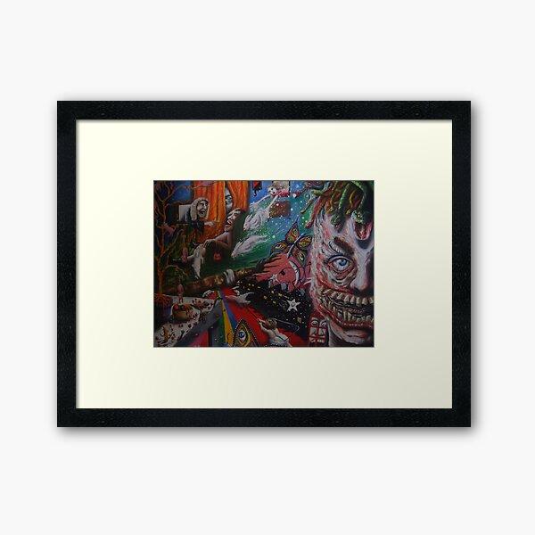 '10 years of hallucinogenic respite' Framed Art Print