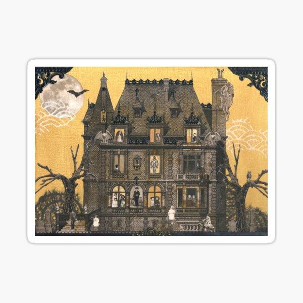 Moribund Manor - Haunted House Sticker