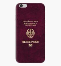 German Passport Vintage iPhone Case