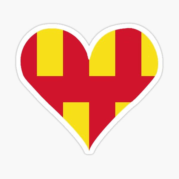 Northumberland Love Sticker