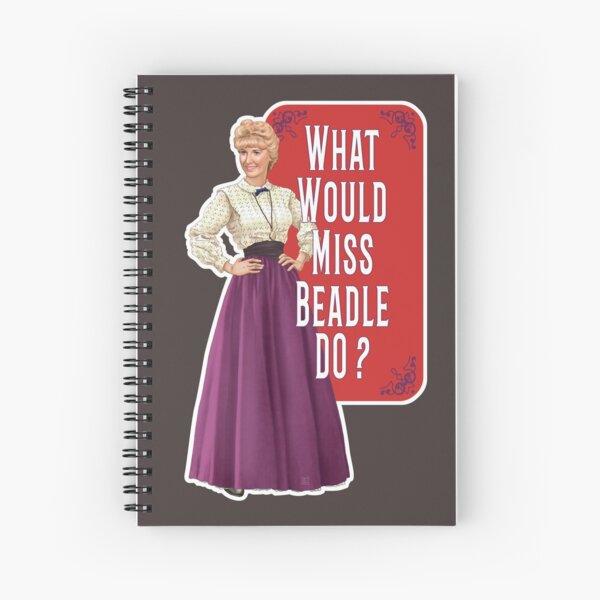 Que ferait Miss Beadle ? Cahier à spirale