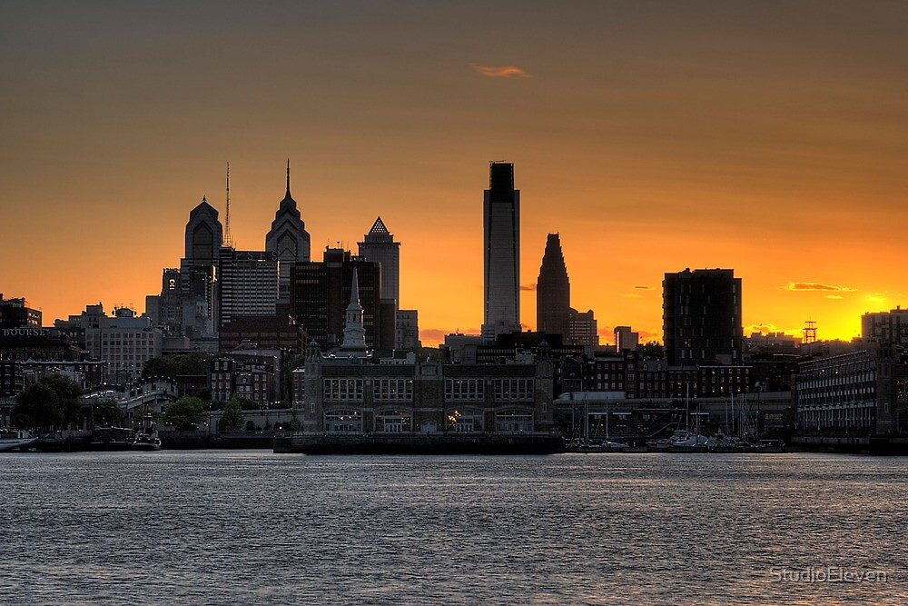 Philadelphia Sunset by StudioEleven