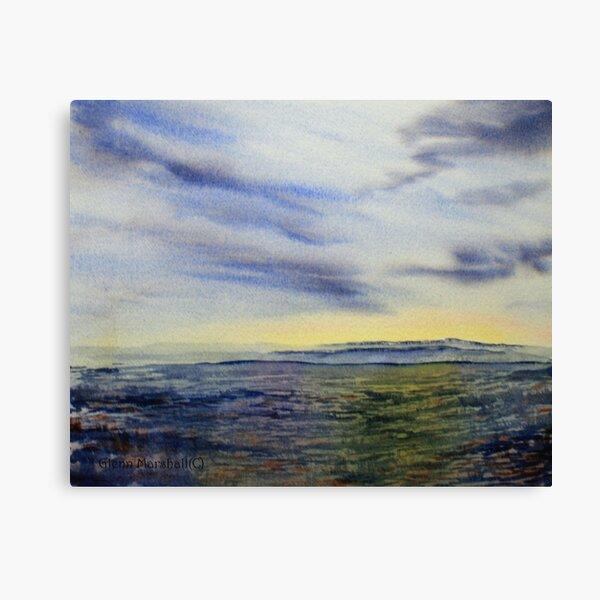 Simply Yorkshire - Moorland Sky Canvas Print